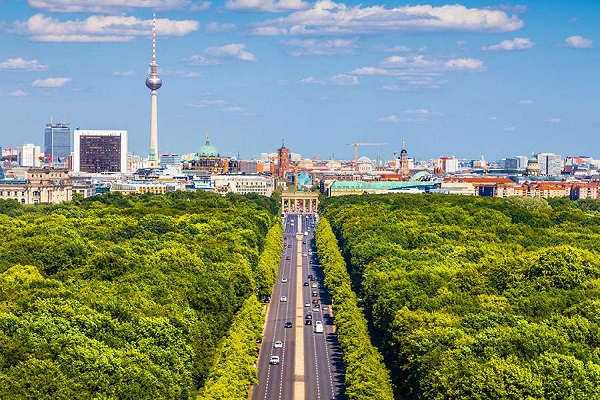 Berlin, Germany - Air quality index: 1