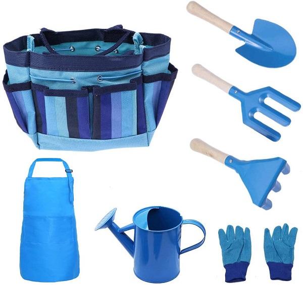 FUQUN 7Pcs Kids Gardening Tools Set