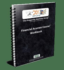 Prosperity Solutions Group Financial Acumen Course Workbook