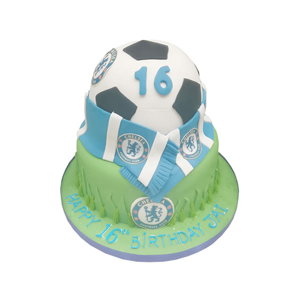 Football Fan Birthday Cake