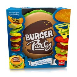 Toptopdeal-Goliath-Games-Burger-Party,-Simple-and-Fast-Paced-Fun-Family-Game-for-Kids-Aged-6+-Multi-Colour