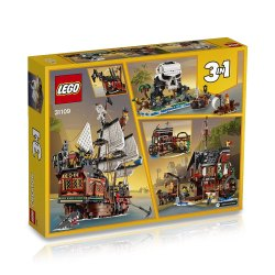 Toptopdeal-LEGO-31109-Creator-3in1-Pirate-Ship--Inn-&-Skull-Island-Toy-Set