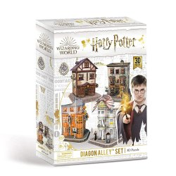 Toptopdeal-Harry-Potter-7585-Diagon-Alley-4-in-1-3D-Puzzle-Set