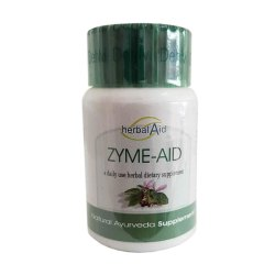 Toptopdeal-Herbal-Aid-Natural-Herbs-Extract-Zyme-Aid-Capsules-60-X-500mg-for-Bloating-&-Indigestion