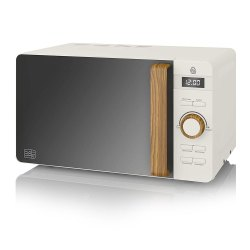 Toptopdeal-Swan-SM22036WHTN,-Nordic-Digital-Microwave,-Wood-Effect-Handle,-Soft-Touch-Housing-and-Matt-Finish,-800W,-Cotton-White