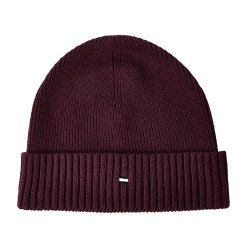 Toptopdeal-Tommy-Hilfiger-Men's-Pima-Cotton-Beanie