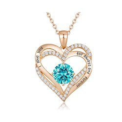 Toptopdeal-uk-CDE-Forever-Love-Heart-Necklaces-Jewellery-for-Women-925-Sterling-Silver-Rose-Gold-Plated-November-Birthstone-Pendant-Necklace-Christmas-Jewelry-Gifts
