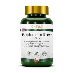 toptopdeal Bupleurum Root Natural Herbal Supplement Helps Balance Immune System Relieves Stress Headache Fatigue Traditional Chinese Medicine by Herb Nature UK (120 Tablets)