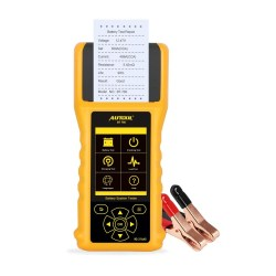 Mrcartool AUTOOL BT760 Auto Car Battery Tester Car Battery Analyzer for 12V/24V Cars Vehicles Trucks Charging System Diagnostic Tool with Printer and 3PCS Printer Paper