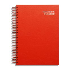 Toptopdeal-Pirongs-A4-Red-Teachers'-Planner-5-Lesson