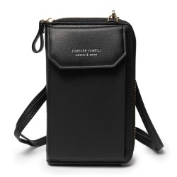 Toptopdeal-YIMENGYA-Women-Crossbody-Phone-Bag-Ladies-Wallet-Small-Soft-PU-Leather-Cell-Phone-Purse-Mini-Shoulder-Bag-with-Strap-Card-Slots-(Black)