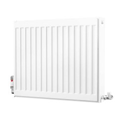 toptopdeal K-Rad Kompact Type 22 Double Panel Double Convector Radiator H500mm x W600mm White