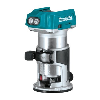 toptopdeal Makita DRT50ZX4 Router Trimmer- 18 V- Blue