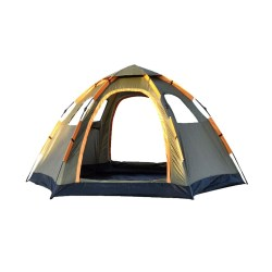 toptopdeal Pop Up Family Camping Tent 4 Person Portable Instant Tent Automatic Tent Waterproof Windproof for Camping Hiking Mountaineering 120 -94 - 57 inches