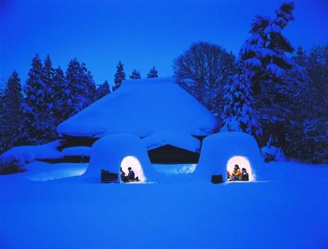 akita-Kamakura snow hut