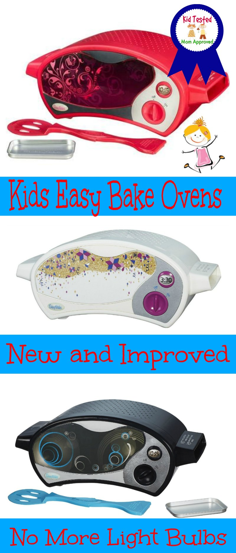 Kids Easy Bake Ovens and Accessories  New  Improved