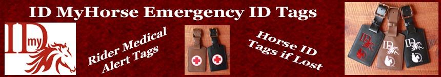 ID MyHorse Emergency ID Tags