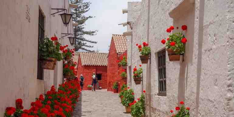 Monastery Santa Catalina, Arequipa, Peru