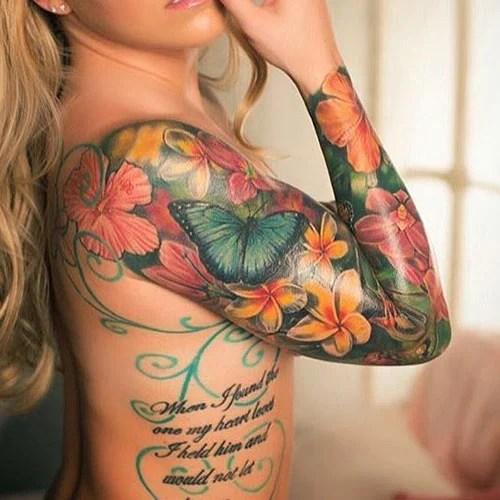 Beautiful Flower Tattoo Designs For Women