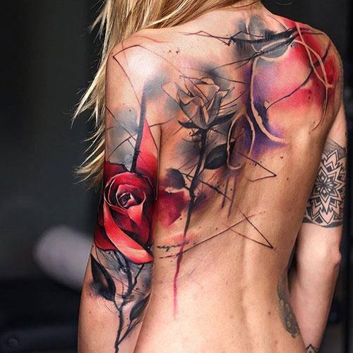 Different Flower Tattoos