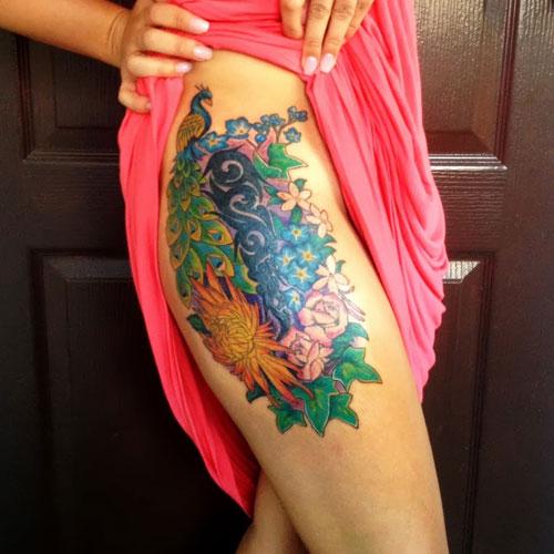 Types of Flower Tattoos