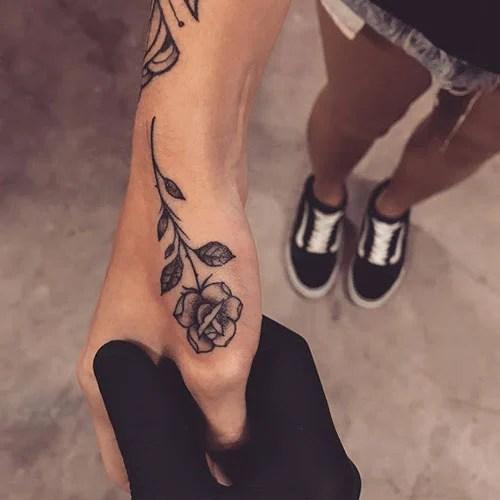 Little Rose Tattoo