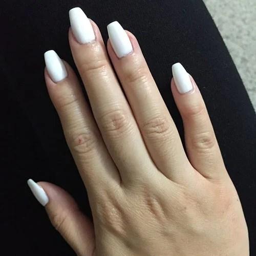 Натуральные гробовые ногти