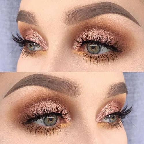 Gold Makeup Looks