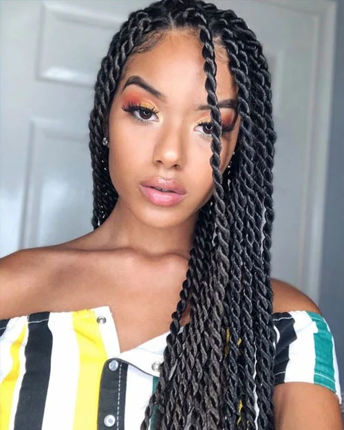 35 Best Senegalese Twist Hairstyles For Women 2020 Guide