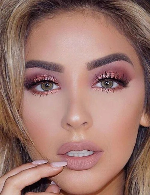 Pink Prom Makeup Looks