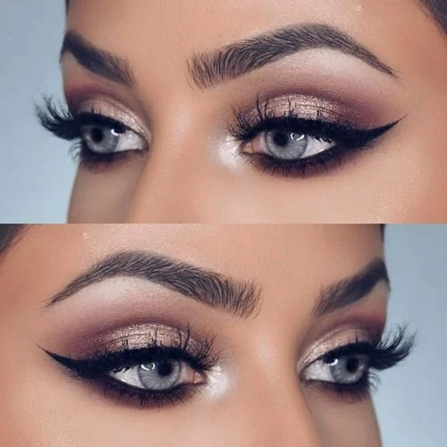 Prom Makeup Looks For Grey Eyes