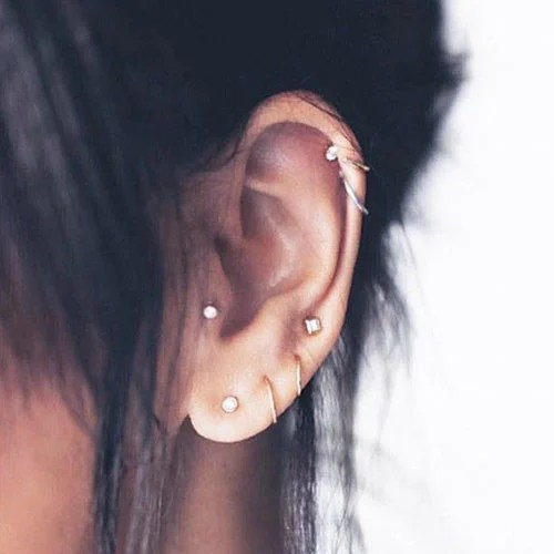 Cute Unique Ear Piercings