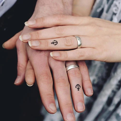 Small Anchor Tattoo