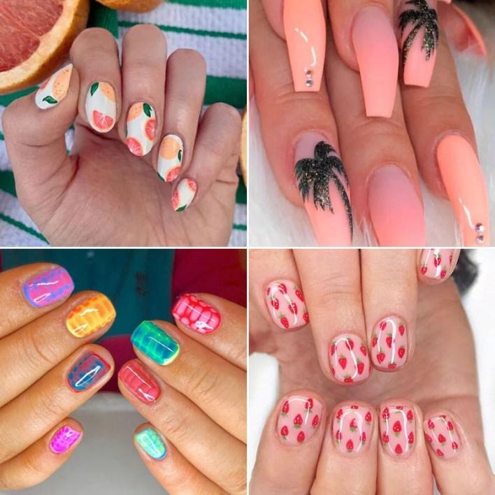 Cool Summer Nail Ideas