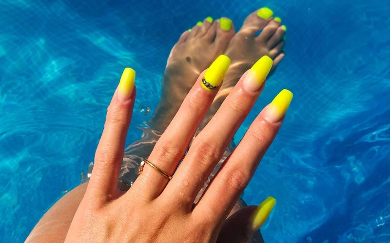 125 Cute Summer Nail Designs Colorful Ideas Trends Art 2020