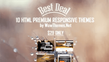 Download 10 Premium HTML Themes with Extended License - Font