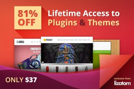 Lifetime Developer Access to Lizatom's WordPress Plugins & Themes -
