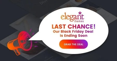 ElegantThemes' Craziest Black Friday Sale Ever! Huge Discounts, Free Prizes & An Exclusive Layout Pack -