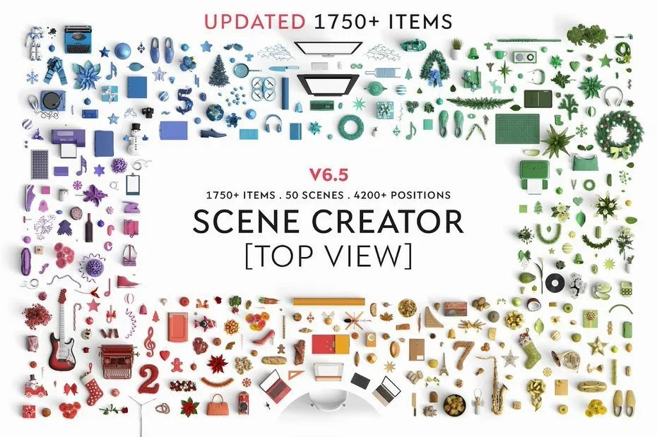 The Best Scene Creator Bundle With 1750 Items Ready To Use -