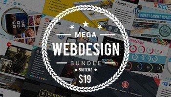 Download Mega Web Design Bundle with Extended License -