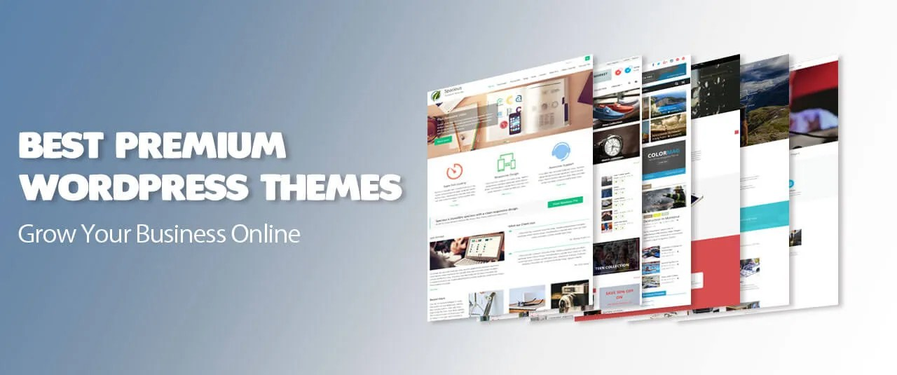 16 Responsive WordPress Themes for $29 + free Support & Updates - WordPress