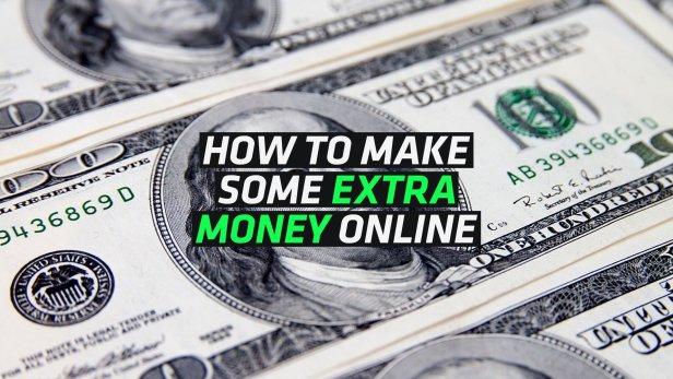 5 Ways to Make Extra Money Online Without Effort - Making Money Online