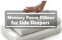 Best memory foam pillow for side sleepers reviews - Top ...