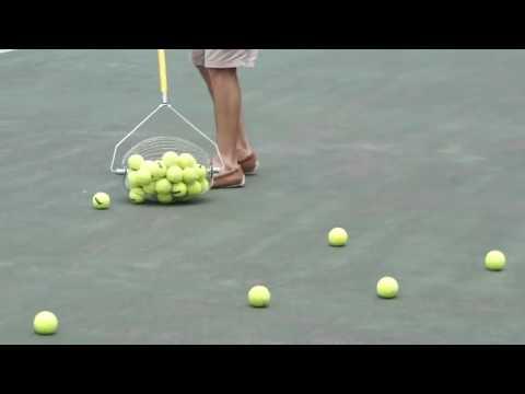 Skvelá vychytávka na zvieranie tenisových loptičiek