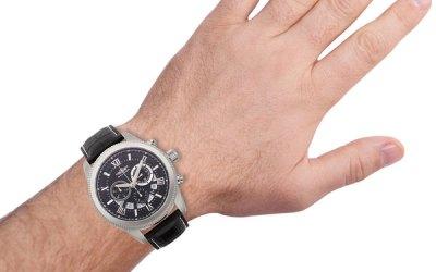 Legendary Jaguar Chronograph Milled Bezel