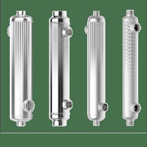 Compact tubular heat exchanger