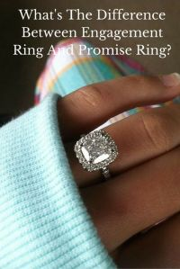 Black Finger With Promise Ring