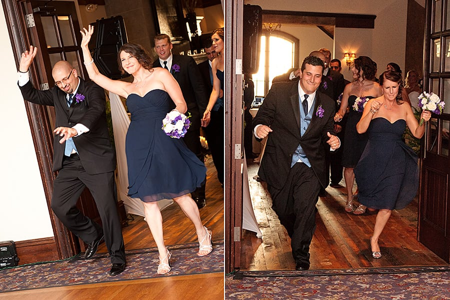 What is the Order of the Bridal Party Entrance