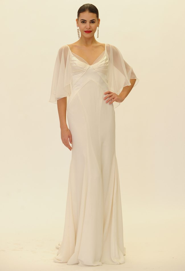 Fall 2014 wedding dresses for second time older brides truly zac posen 2014 bridal dress collection junglespirit Gallery