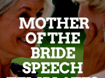 MOTHER OF THE BRIDE SPEECH TEMPLATES | Wedding Speeches ...